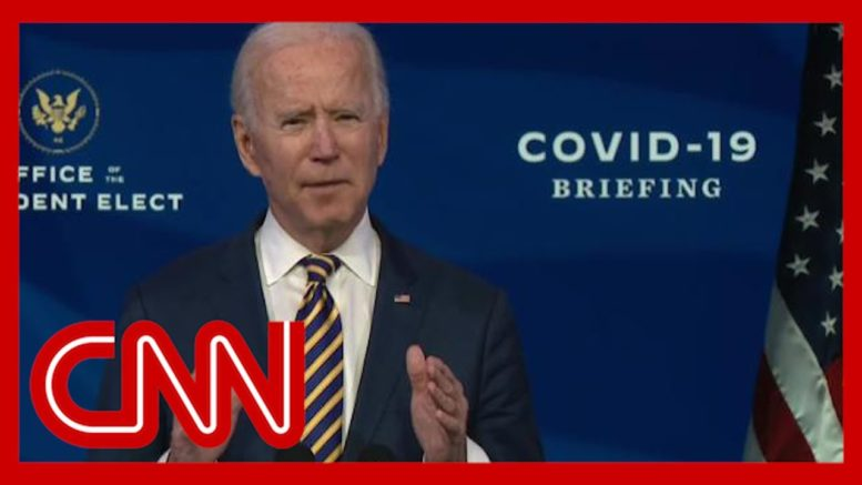 Biden says Trump administration far behind on vaccines 1