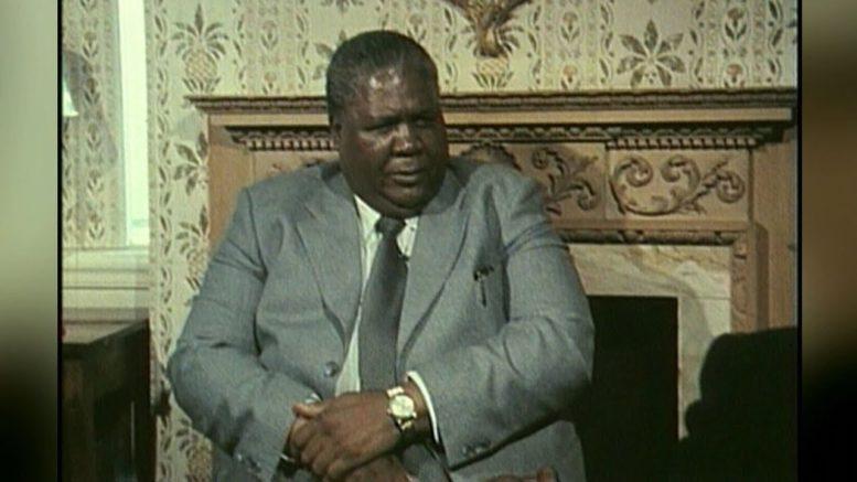 1979 interview with Rhodesian leader Joshua Nkomo 1