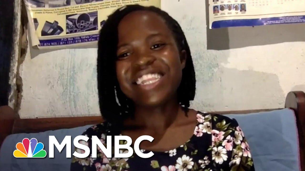 Joyce Chisale's New Poem 'Had I Known' | The Last Word | MSNBC 1