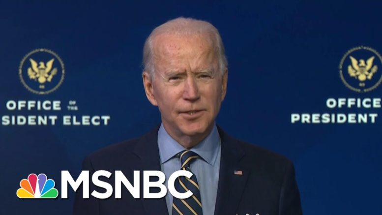 Biden Accuses Trump Appointees Of Obstructing The Transition | The 11th Hour | MSNBC 1