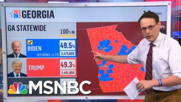 2M Votes Already Cast As Georgia Voters Turn Out To Vote Ahead Of Senate Runoffs | Stephanie Ruhle 6