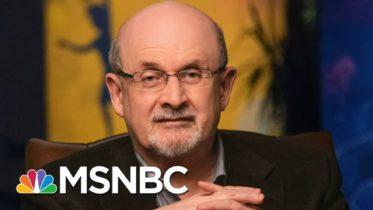 Salman Rushdie Offers Writing Wisdom In New Masterclass | Morning Joe | MSNBC 6