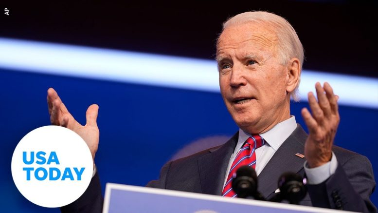 President-elect Biden speaks on the COVID-19 pandemic | USA TODAY 1