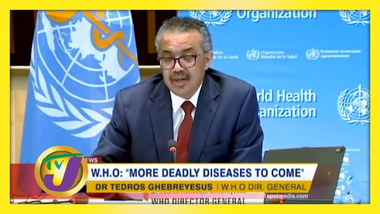 W.H.O Warns of 'More Deadly Diseases to Come' - December 28 2020 1