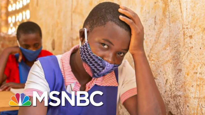 K.I.N.D. Scholarship Student: 'I Want To Be A Role Model' | The Last Word | MSNBC 1
