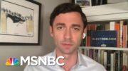 Ossoff Criticizes 'Dime-A-Dozen' Opponent Sen. Perdue | Morning Joe | MSNBC 3