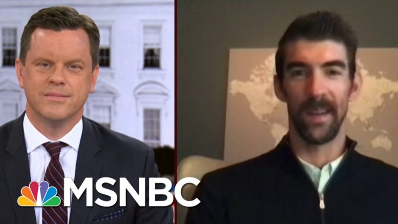 Olympic Champion Michael Phelps Mentors Young Leaders | Morning Joe | MSNBC 1