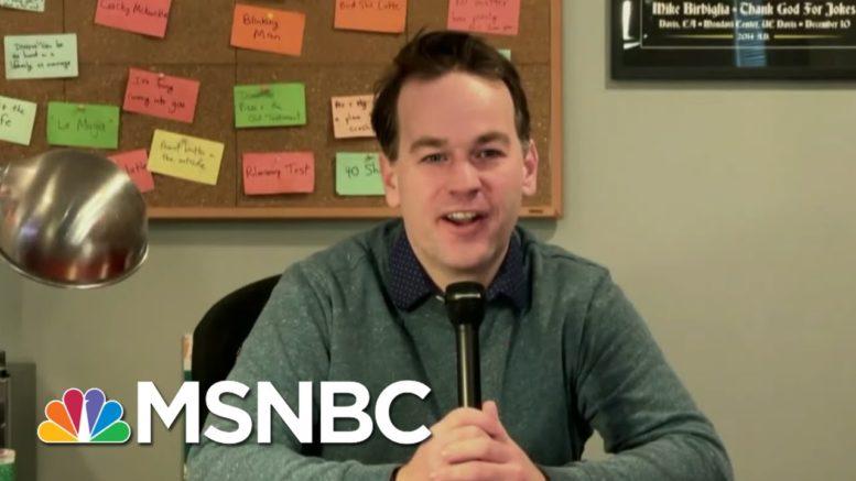 Mike Birbiglia Set To Host Charity New Year's Event | Morning Joe | MSNBC 1