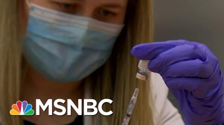 White House Officials Acknowledge Covid-19 Vaccination Pace Too Slow | MTP Daily | MSNBC 1