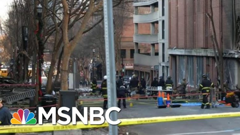 Investigators Have Evidence Bomber Believed In 'Lizard People' Conspiracy Theory | MTP Daily | MSNBC 1