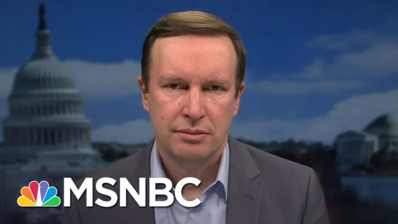 """Sen. Murphy: Hawley Is """"Engaged In The Attempted Overthrow Of Democracy"""" 