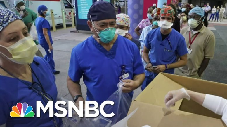 Honoring The Heroes Of 2020 | Deadline | MSNBC 1