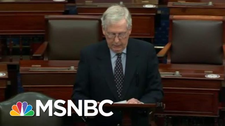 'Family Feud': McConnell's Covid-19 Relief Game Tearing GOP Apart | The Beat With Ari Melber | MSNBC 1
