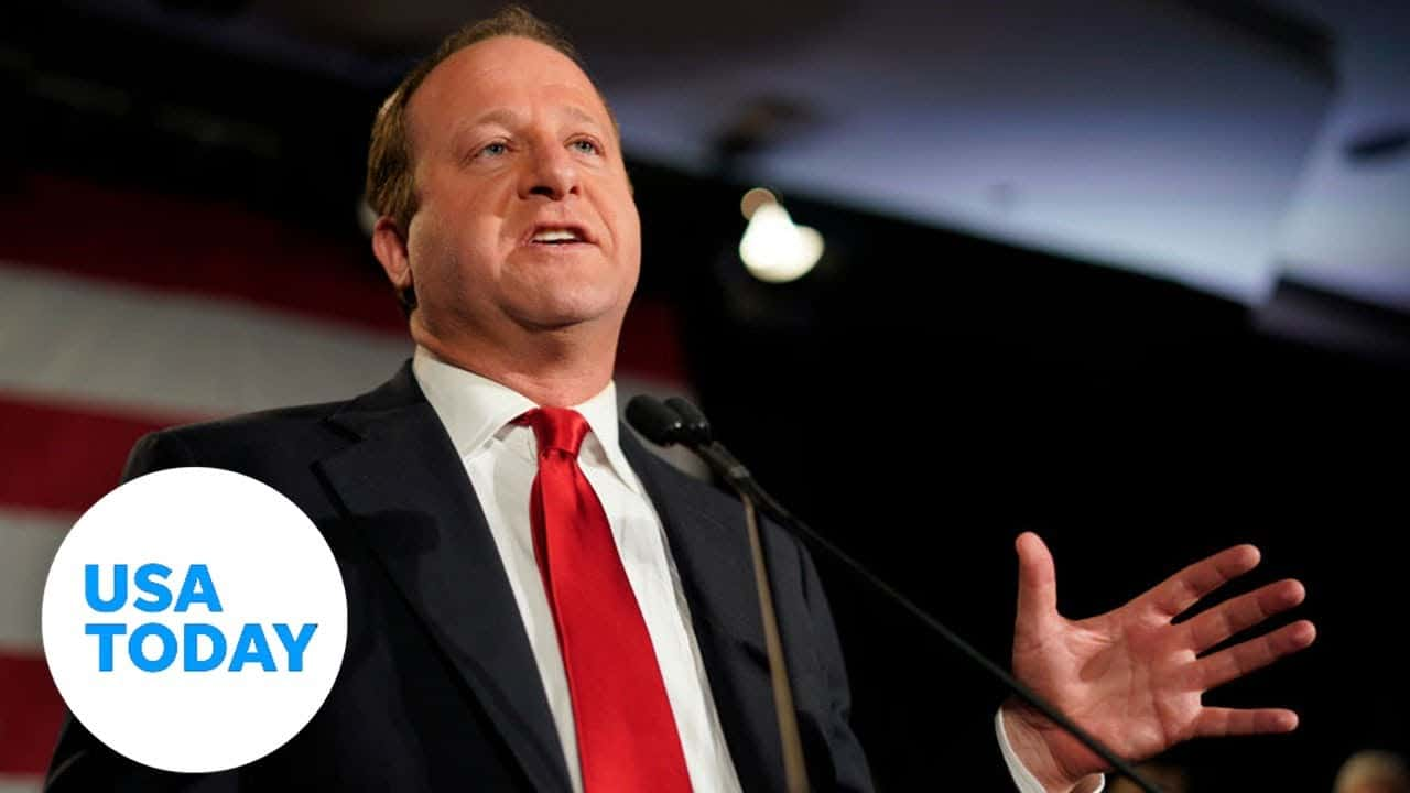 Colorado Governor Jared Polis holds news conference on COVID-19   USA TODAY 2