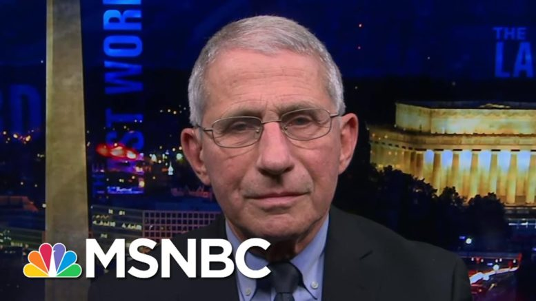 Dr. Fauci: 'Double Down On Your Public Health Measures' To Fight New Covid Variant | The Last Word 1
