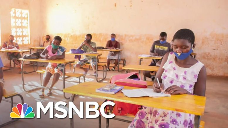 'Educating A Girl Is Educating The Whole Nation' | The Last Word | MSNBC 1