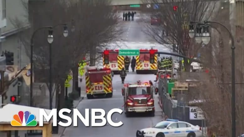 Officials Probe Whether Nashville Bomber Believed In 'Lizard People' | MSNBC 1