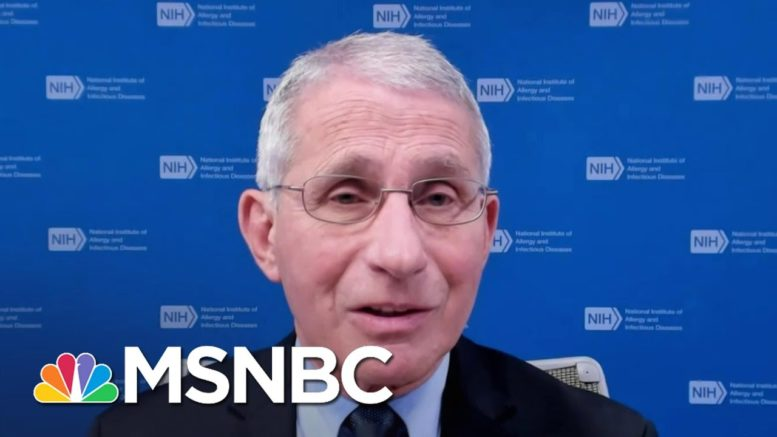 Dr. Fauci Hopes Covid Vaccine Distribution Will Be 'Gaining Momentum' After Slow Start 1