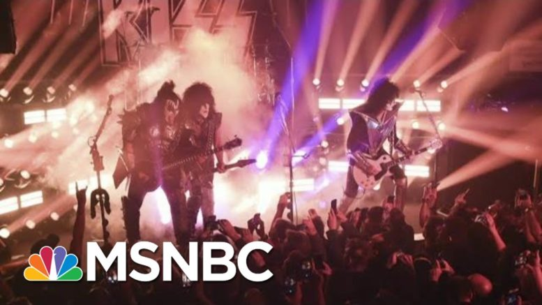Gene Simmons Previews The 'Kiss 2020 Goodbye' Concert | Morning Joe | MSNBC 1