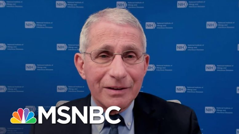 Dr. Fauci Thinks It's 'Unimaginable' Some Americans Still Believe Covid Is 'Fake News' 1