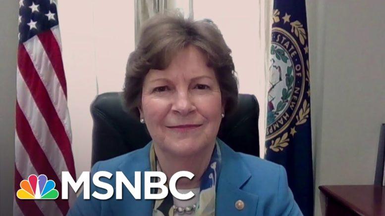 Sen. Shaheen: Hawley's Electoral College Challenge Borders On Sedition Or Treason | Andrea Mitchell 1
