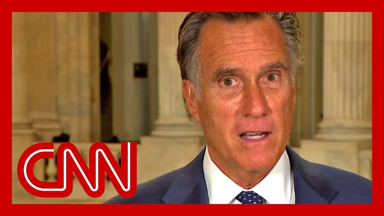Mitt Romney blasts Trump's lack of pandemic leadership 1