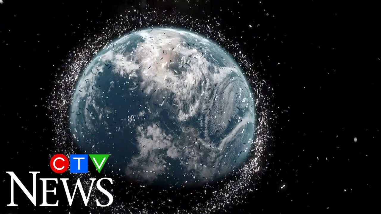 The European Space Agency is concerned about a rise in space debris 2