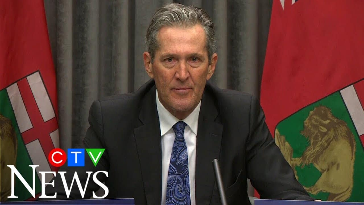 """Pallister: """"If you don't think COVID-19 is real, right now, you are an idiot."""" 1"""