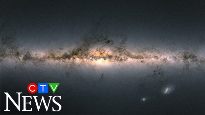 Stunning new map of the Milky Way released by the ESA 1