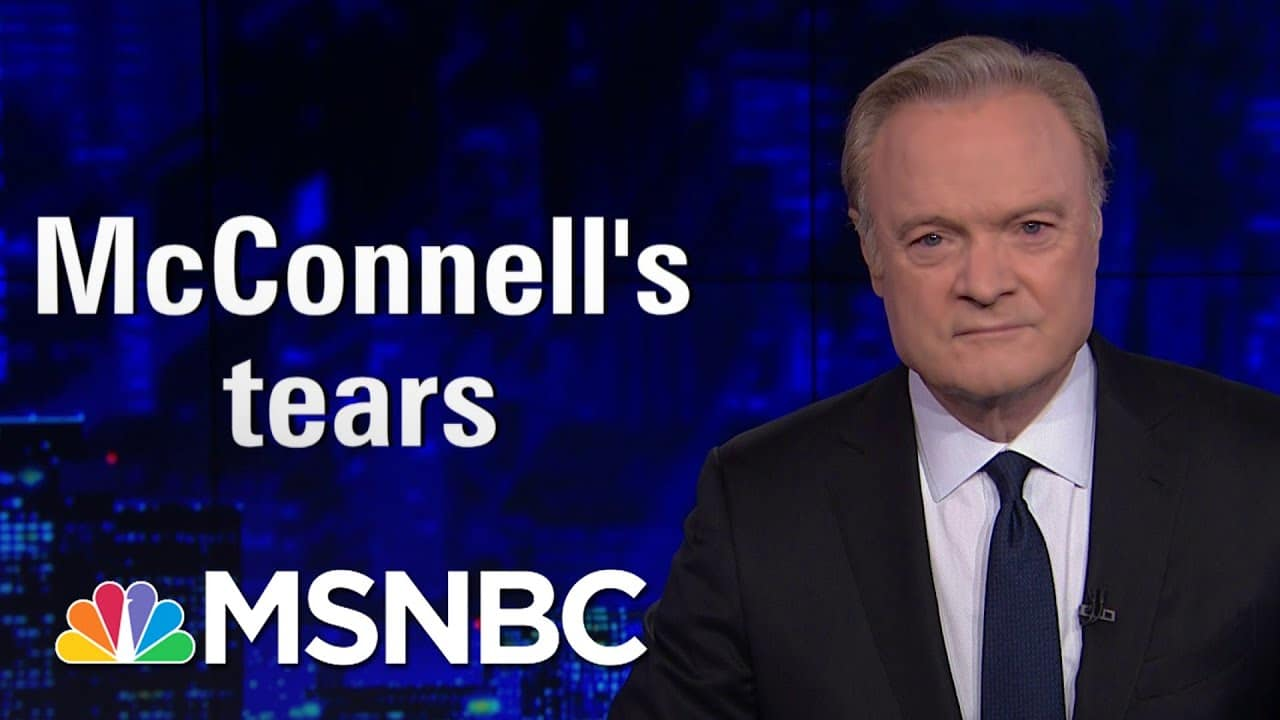 Mitch McConnell Actually Cried Today. Lawrence Was Not Moved | The Last Word | MSNBC 1