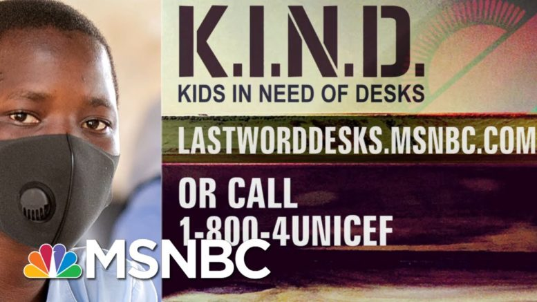 Lawrence: 'Your Generosity For K.I.N.D. Has Left Me In Awe' | The Last Word | MSNBC 1
