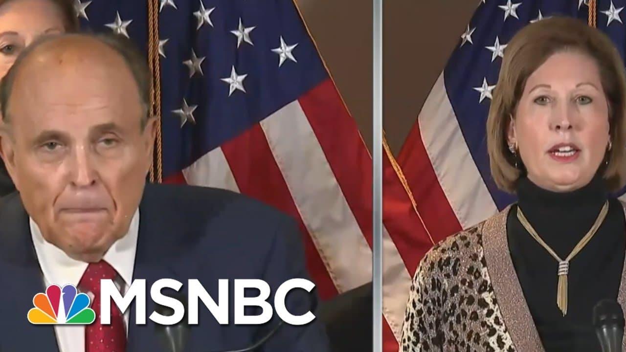 Entertaining Trump's Post-Election Antics Begins To Backfire On Republican Interests | Rachel Maddow 1