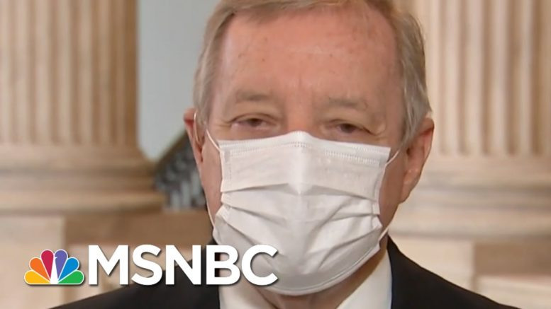 'We Want Our Bill Called': Sen. Durbin On Virus Relief Deal | Morning Joe | MSNBC 1