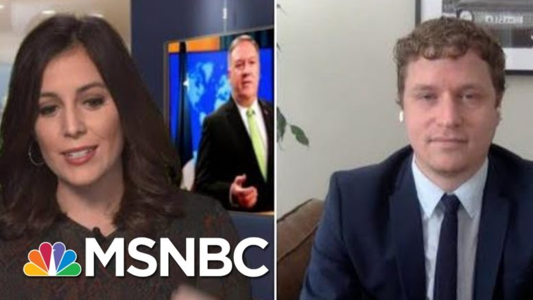 Trump WH, State Dept. Push Ahead With Holiday Parties   Hallie Jackson   MSNBC 1