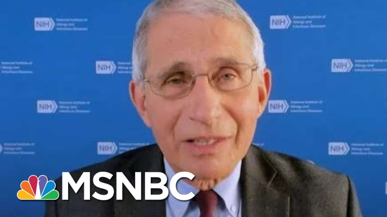 Americans Should 'Hang On' For Vaccine, Not Travel Or Congregate For Holidays   Andrea Mitchell 1