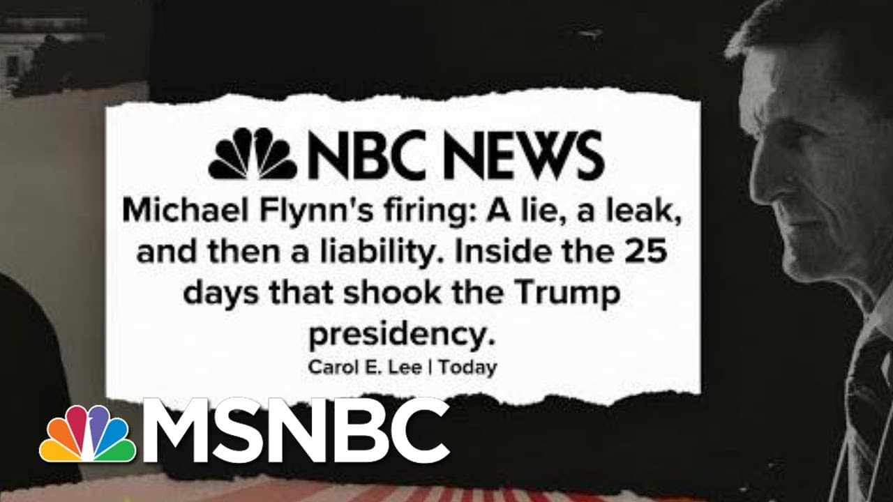 Trump Used Michael Flynn Case As 'Means To His Own End, To Undermine Mueller Investigation' | MSNBC 1