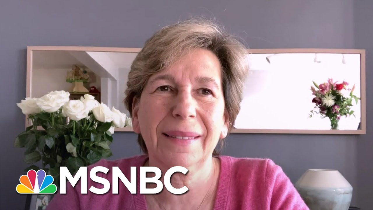 Randi Weingarten: Always Thought We Could Reopen Schools With 'Safeguards'   Andrea Mitchell   MSNBC 1