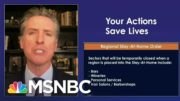 California Issues New Stay-At-Home Order Linked To ICU Capacity | Ayman Mohyeldin | MSNBC 5