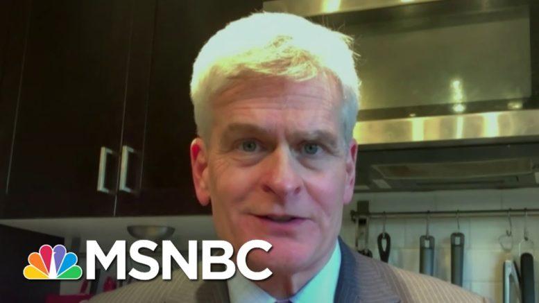 Bill Cassidy Condemns Trump Campaign Lawyer's Violent Comments About Chris Krebs | Katy Tur | MSNBC 1