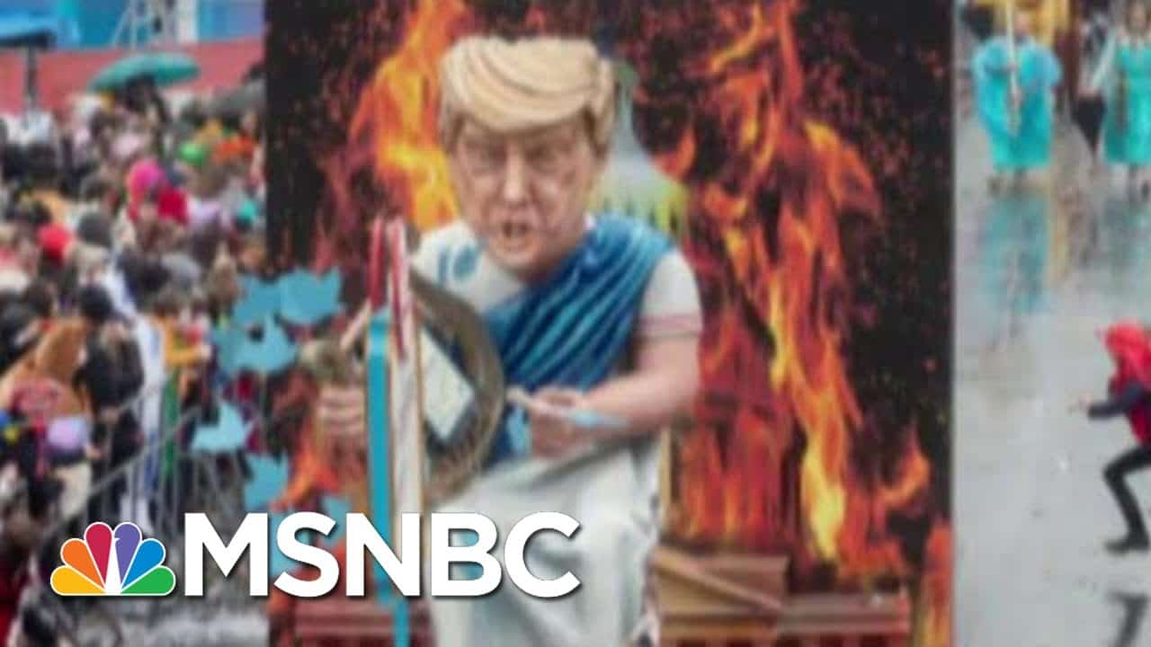 Trump Tweeting, Playing Hooky As Covid-19 Hits All-Time High   The Beat With Ari Melber   MSNBC 1