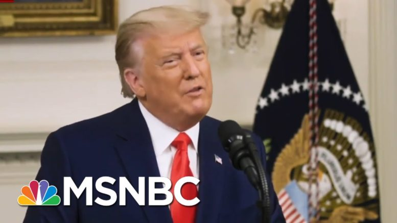 GOP Is 'Hopeful' Trump Will Stay On Message While Campaigning For Georgia Senators | All In | MSNBC 1