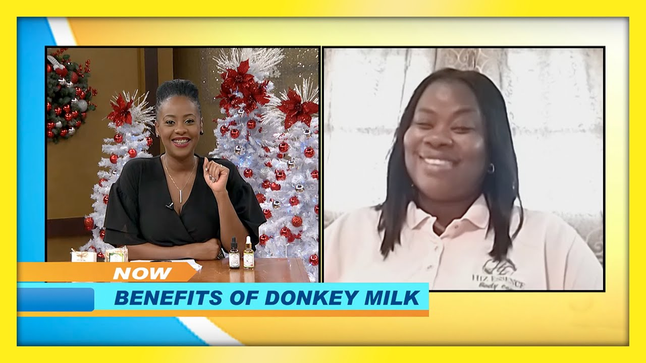 Benefites of Donkey Milk: TVJ Smile Jamaica - December 2 2020 1