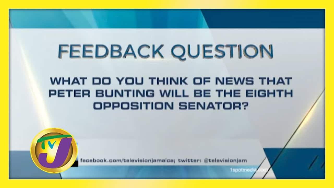 TVJ News: Feedback Question - December 2 2020 1