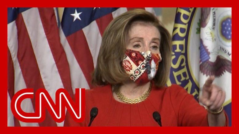Pelosi scolds CNN reporter after stimulus question 1