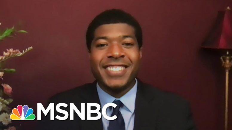 First Black Man Elected Harvard Student Body President Honors John Lewis | The Last Word | MSNBC 1