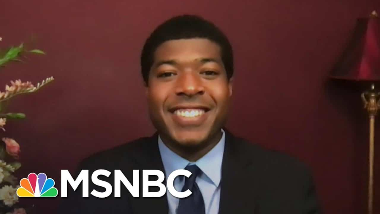 First Black Man Elected Harvard Student Body President Honors John Lewis   The Last Word   MSNBC 7