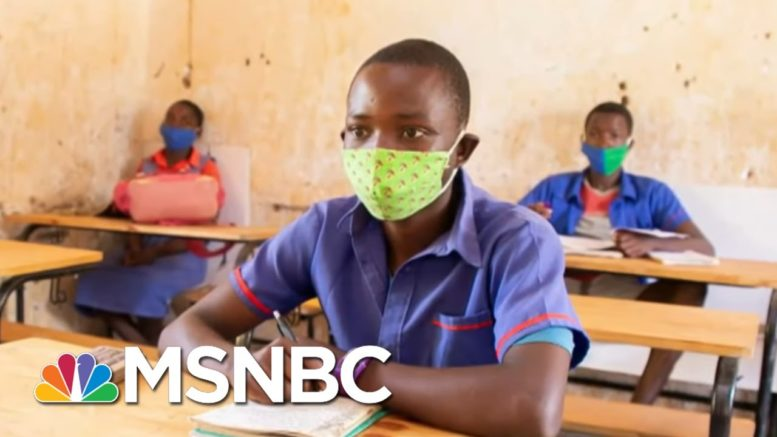 K.I.N.D Desks Help Fight The Spread Of Covid-19 | The Last Word | MSNBC 1