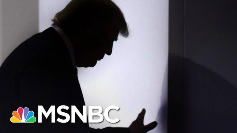 WAPO: Brooding, Delirious Trump Won't Admit Loss In Private | The 11th Hour | MSNBC 1