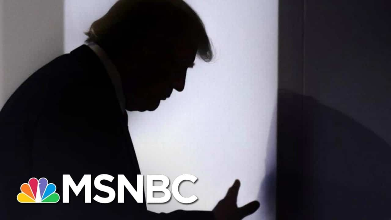 WAPO: Brooding, Delirious Trump Won't Admit Loss In Private   The 11th Hour   MSNBC 8