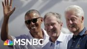 Biden, Obama, Bush And Clinton Willing To Get Covid-19 Vaccine On Camera | The Last Word | MSNBC 3
